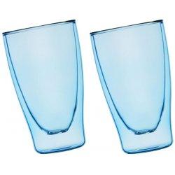 Szklanki termiczne niebieskie 2x400ml