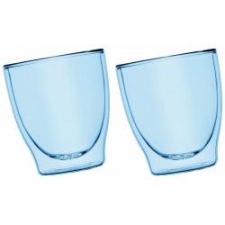 Szklanki Termiczne Niebieskie 2x200ml