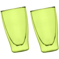 Szklanki termiczne zielone 2x400ml