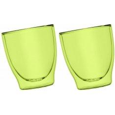 Szklanki Termiczne Zielona 2x200ml