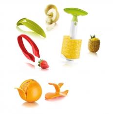 Zestaw narzędzi do obierania owoców